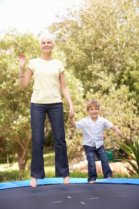Health Bounce Rebounder for elder people